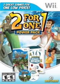 2 for 1 Power Pack: Winter Blast: 9 Snow & Ice Games / Summer Sports 2: Island Sports Party Box Art