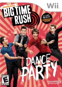 Big Time Rush: Dance Party Box Art
