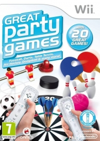 Great Party Games Box Art