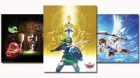 2012 Club Nintendo Platinum Member Reward - 3 posters set Box Art