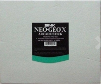 Neo Geo X Arcade Stick Box Art