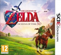 Legend of Zelda, The: Ocarina of Time 3D [UK] Box Art