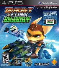 Ratchet & Clank: Full Frontal Assault Box Art