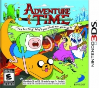 Adventure Time: Hey Ice King! Why'd You Steal Our Garbage?!! (879278360082) Box Art
