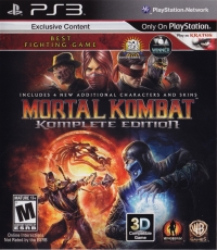 Mortal Kombat: Komplete Edition Box Art