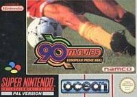 90 Minutes: European Prime Goal Box Art