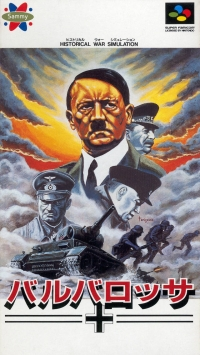 Barbarossa Box Art