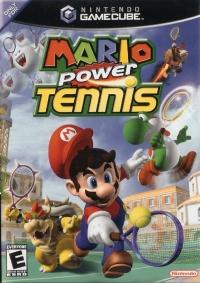 Mario Power Tennis Box Art