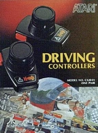 Atari 2600 Driving Controller Box Art