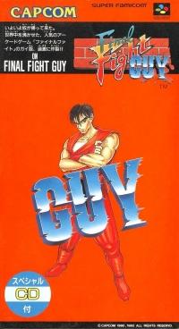 Final Fight Guy Box Art