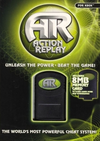 Action Replay Max Box Art