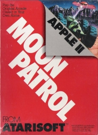 Moon Patrol Box Art