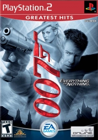 007: Everything Or Nothing - Greatest Hits Box Art