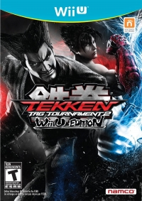 Tekken Tag Tournament 2: Wii U Edition (male cover) Box Art