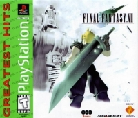 Final Fantasy VII - Greatest Hits (Misprint) Box Art
