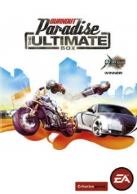 Burnout Paradise: The Ultimate Box Box Art