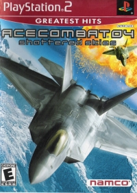 Ace Combat 04: Shattered Skies - Greatest Hits Box Art