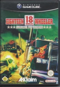 18 Wheeler: American Pro Trucker Box Art