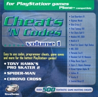 Cheats 'N Codes volume 1 Box Art