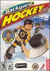 Backyard Hockey 2005 Box Art