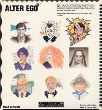 Alter Ego: Male Version Box Art