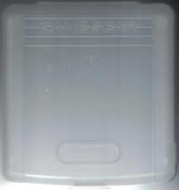 Sega Game Gear Cartridge Case Box Art