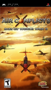 Air Conflicts: Aces of World War II Box Art