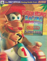 Diddy Kong Racing - Official Nintendo Player's Guide Box Art