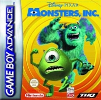 Disney/Pixar's Monsters, Inc. Box Art