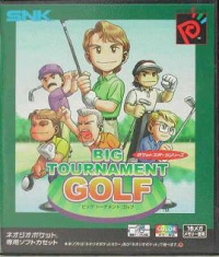 Big Tournament Golf Box Art