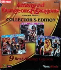 Advanced Dungeons & Dragons - Collector's Edition Box Art