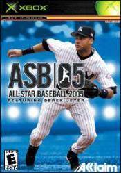 All-Star Baseball 2005 Box Art