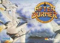 After Burner (cassette) Box Art