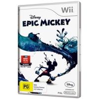 Disney Epic Mickey Box Art