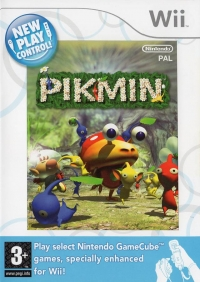Pikmin - New Play Control! Box Art