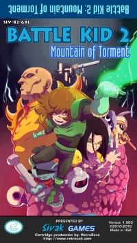 Battle Kid 2: Mountain of Torment Box Art