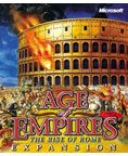 Age of Empires: The Rise of Rome Box Art
