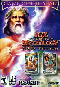 Age of Mythology: Gold Edition Box Art