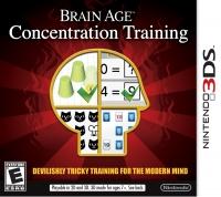 Brain Age: Concentration Training Box Art