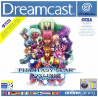 Phantasy Star Online Box Art