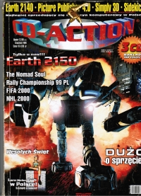 CD-ACTION #43 (December 1999) Box Art