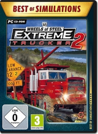 18 Wheels of Steel: Extreme Trucker 2 (Best of Simulations - Germany) Box Art