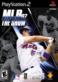 MLB 07 The Show Box Art