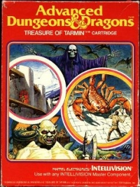 Advanced Dungeons & Dragons: Treasure of Tarmin (white label) Box Art