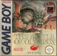 Battle of Olympus, The Box Art