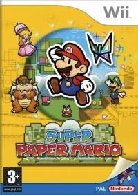 Super Paper Mario [UK] Box Art