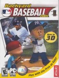 Backyard Baseball 2005 Box Art