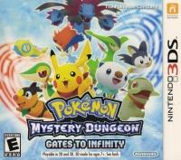 Pokémon Mystery Dungeon: Gates to Infinity Box Art