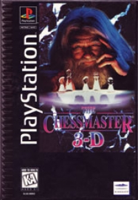 Chessmaster 3D (Long Box) Box Art