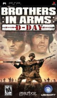 Brothers in Arms: D-Day Box Art